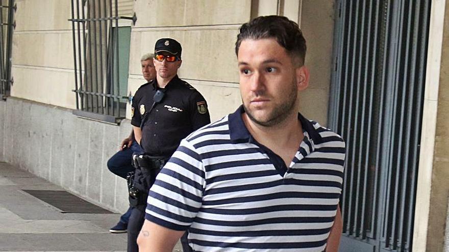 El Prenda escribió la carta de perdón a la víctima antes de pedir otro permiso carcelario