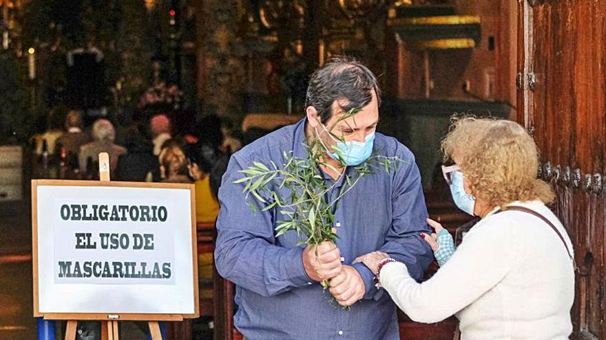 Un triste domingo  de Ramos