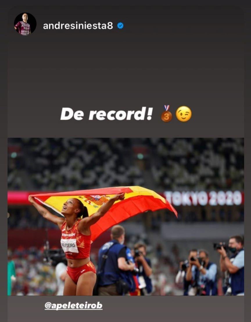 Andrés Iniesta se unió también a esta larga lista.
