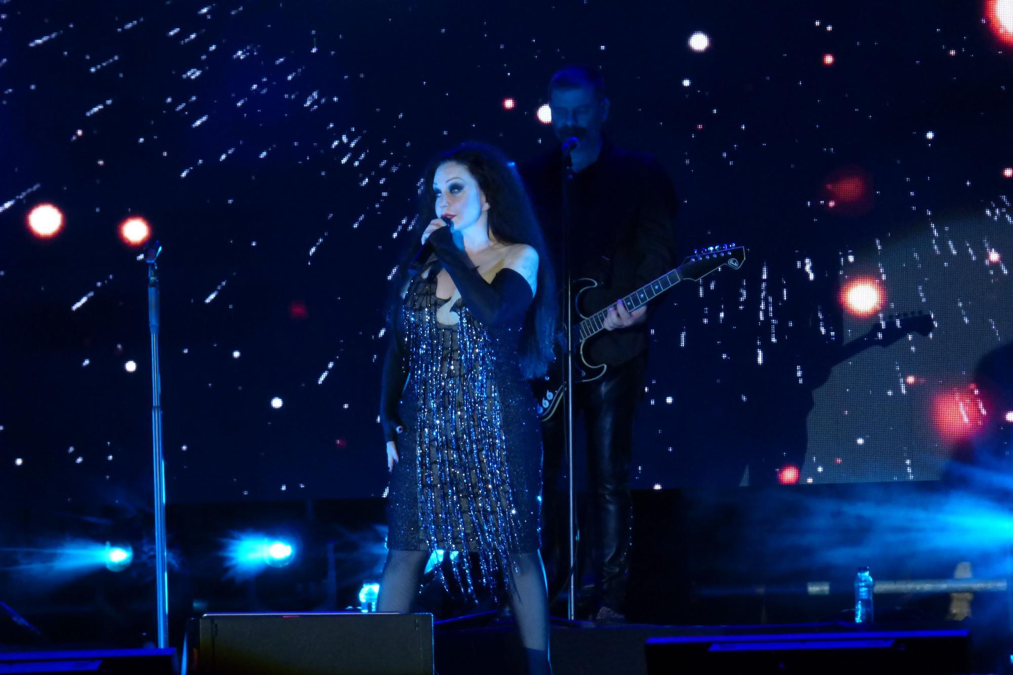 Concert apoteòsic de Fangoria a la Ciutadella de Roses en el marc del festival Sons del Món