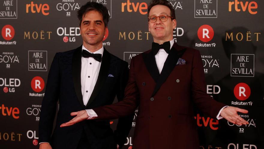 Ernesto Sevilla se ríe de las críticas por los Goya