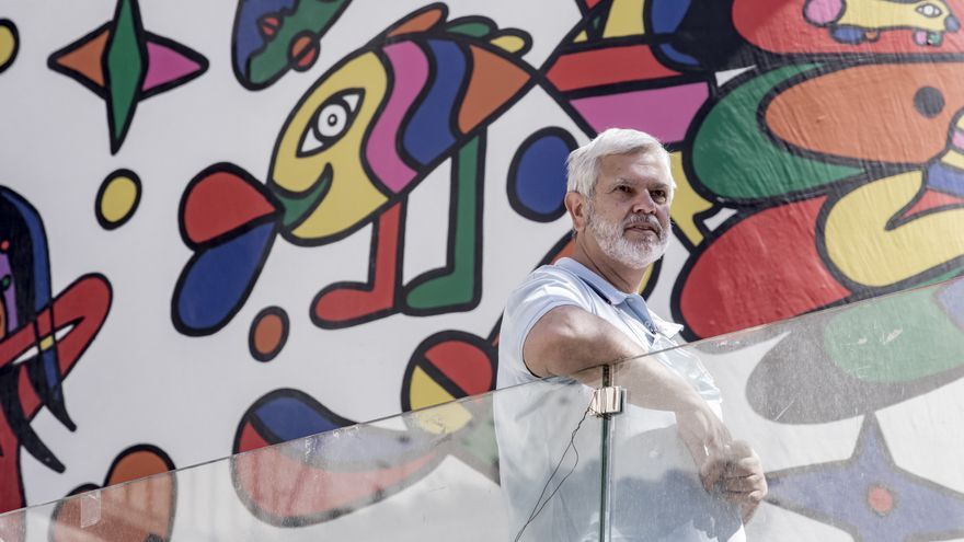 Antoni Noguera: «No cabe negociar con el mural de Mesas»