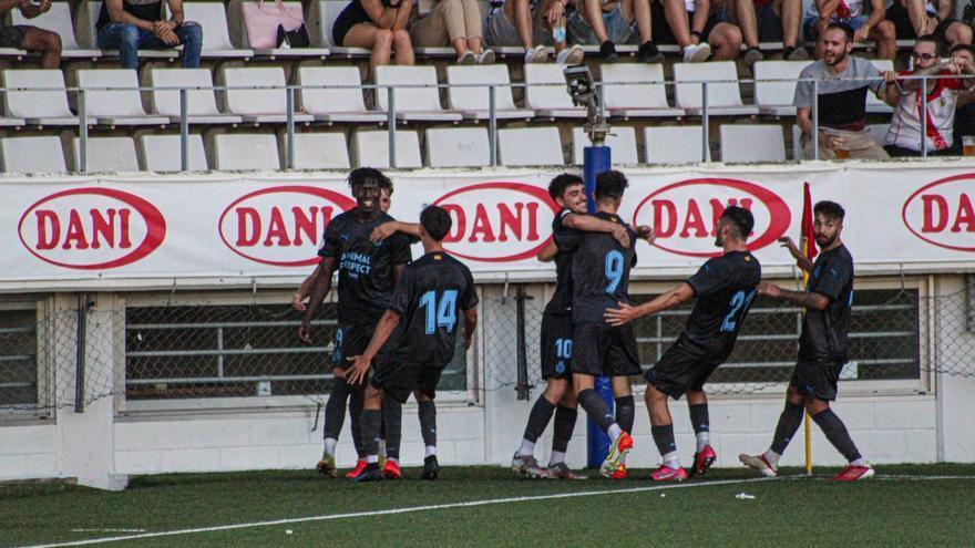 Inici de mèrit del Girona B (1-2)