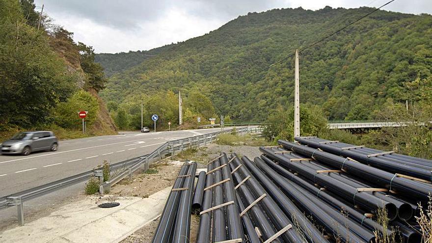 La red de abastecimiento de Santiago Arenas requiere la expropiación en 41 fincas
