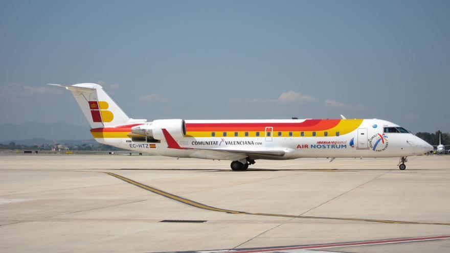 Air Nostrum, una 'rara avis'  en la aviación española
