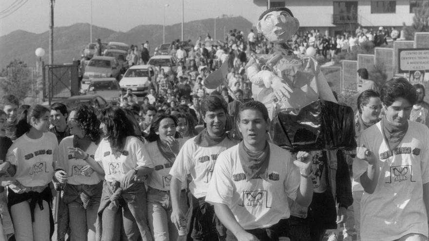 San Teleco: tres décadas de fiestas universitarias en Vigo