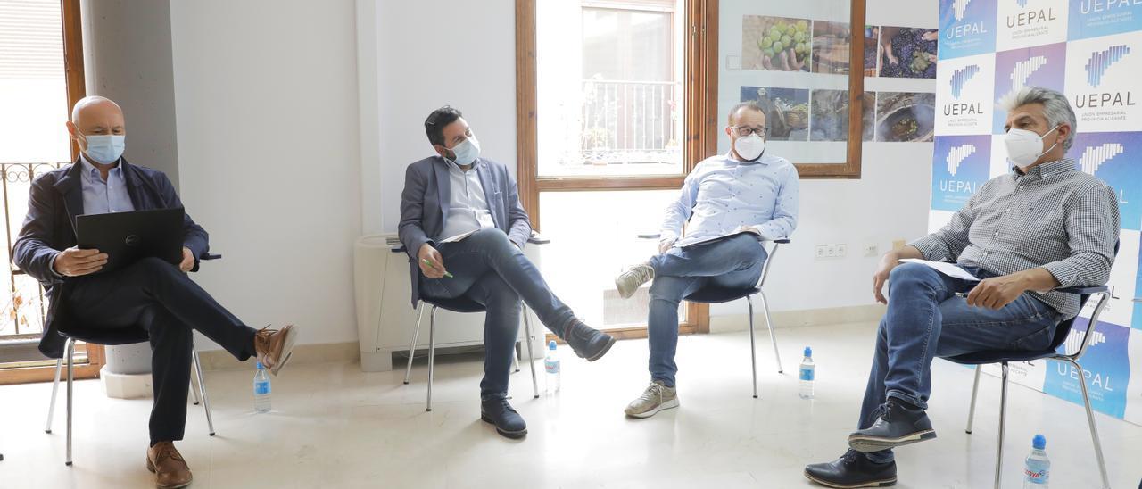 Imagen de la reunión de la Mesa de Expertos de Uepal