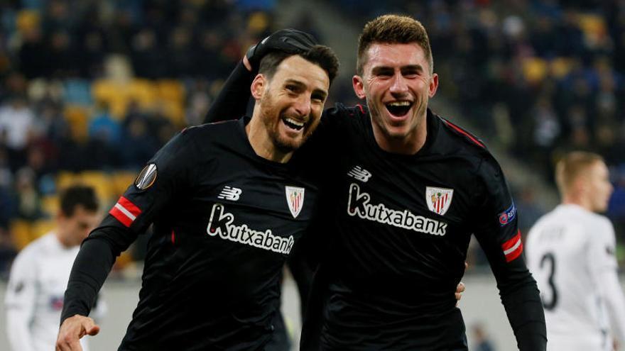 Aduriz y Raúl García dan el pase al Athletic ante el Zorya