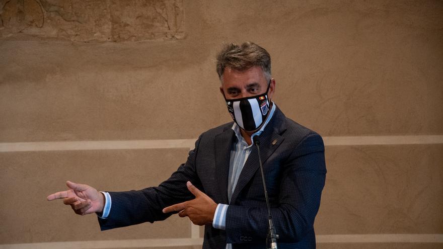 «El Zamora no va a ser nada fácil», advierte el presidente del Badajoz