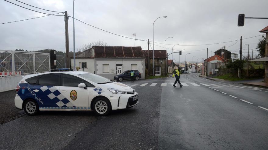 La Policía Local de Vilagarcía detiene a un conductor tras una larga persecución