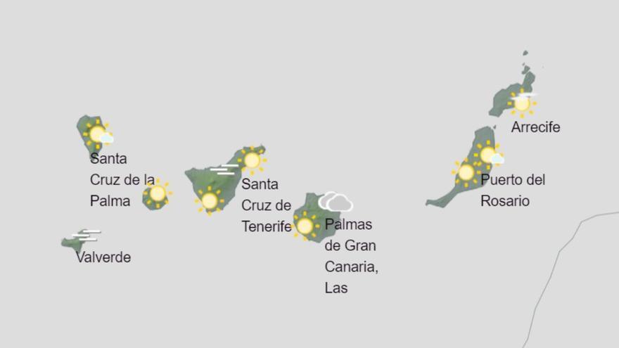 El calor persiste en Canarias este martes