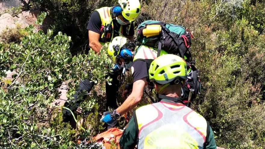 El excursionista encontrado muerto en Gátova pudo sufrir un golpe de calor
