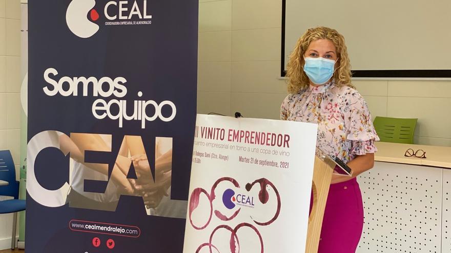 María Cordón Muro ofrece una charla en el Vinito Emprendedor de Ceal