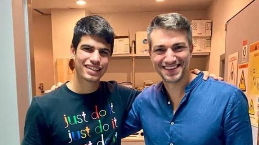 Carlos Alcaraz confirma que reaparecerá el 30 de septiembre en Villena
