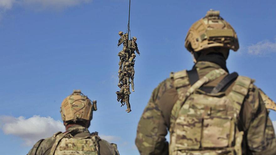 El MOE inicia sus principales maniobras del año con unidades de Chile y de los Marines
