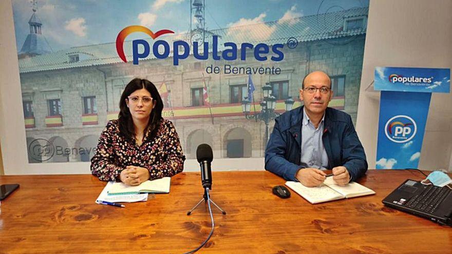 """El PP acusa a PSOE e IU de que """"su mala gestión"""" perjudica a las empresas de Benavente"""