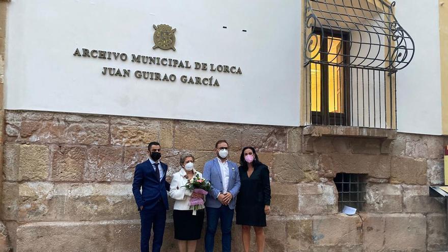 El Archivo de Lorca toma el nombre de Juan Guirao