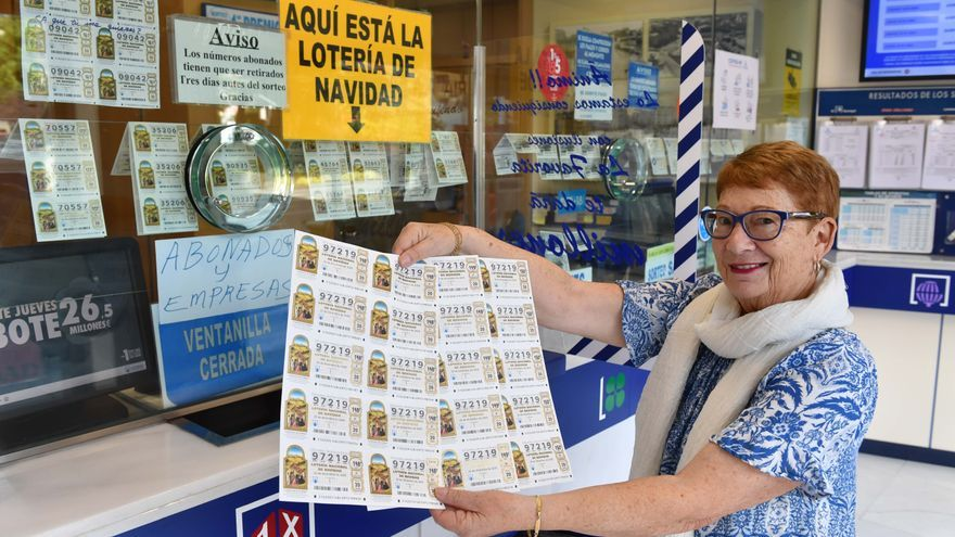 Lotería de Navidad en Galicia | Cada gallego gasta 66,45 euros de media en Lotería para el Sorteo de Navidad, un euro más que en el conjunto estatal