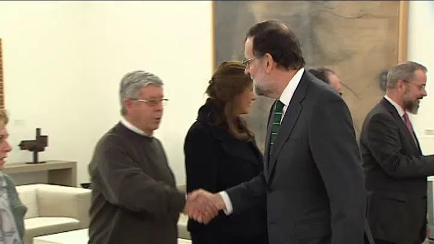 Satisfacción en los familiares de las víctimas del Yak-42 tras reunirse con Rajoy