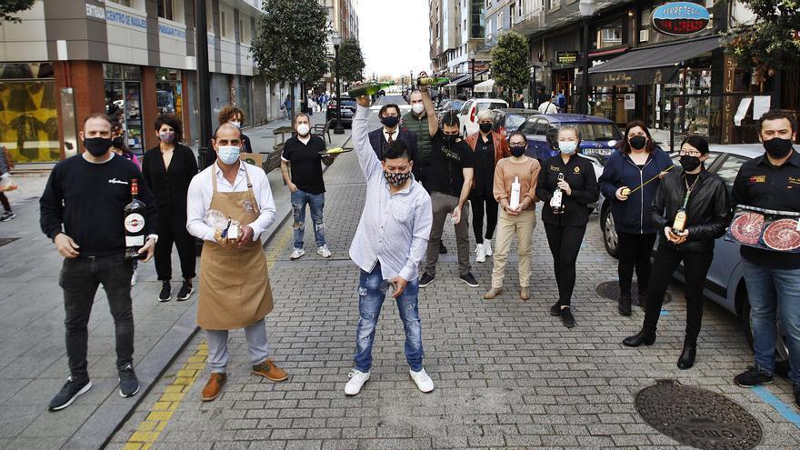 Los comerciantes de Aguado quieren dar otro paso con la peatonalización