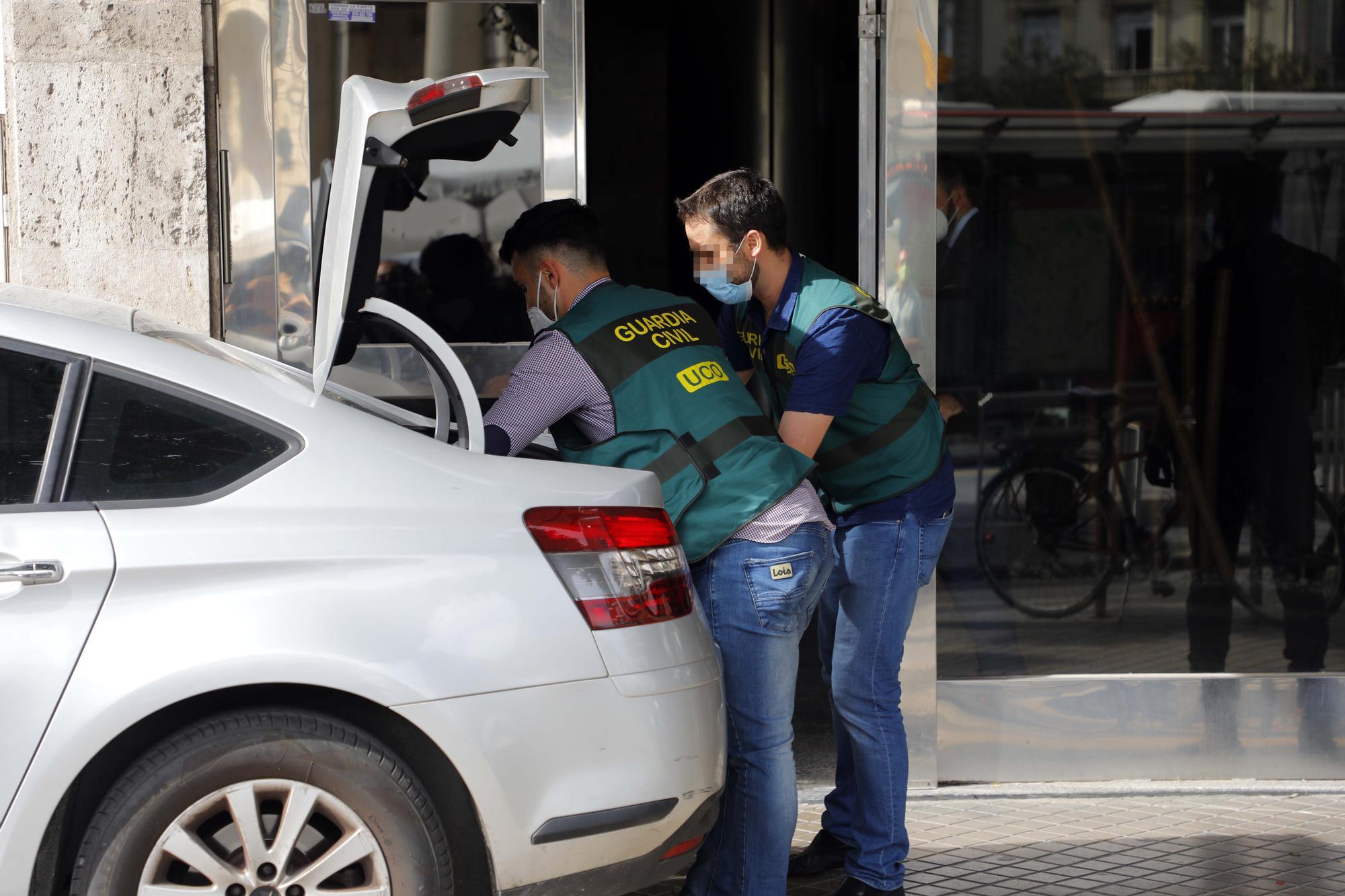Operación Azud: así ha sido la macrooperación policial en València