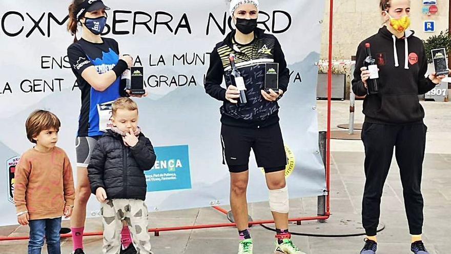 La CxM Serra Nord XS se celebra en dos días y tiene cuatro ganadores