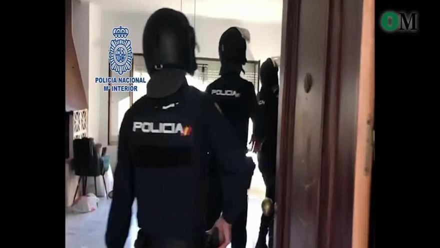 Detenido en Mijas un fugitivo serbio que tenía en su casa un laboratorio de marihuana