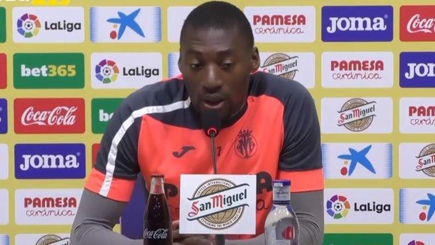 """Ekambi: """"Quien debe sacar al Villarreal de esta situación somos los jugadores"""""""