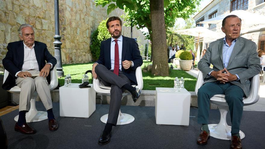Casado avisa a Sánchez de que la falta de acuerdo sobre el CGPJ pone en riesgo los fondos europeos