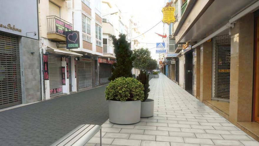 L'Ajuntament de Roses transformarà l'estètica del carrer Doctor Pi i Sunyer