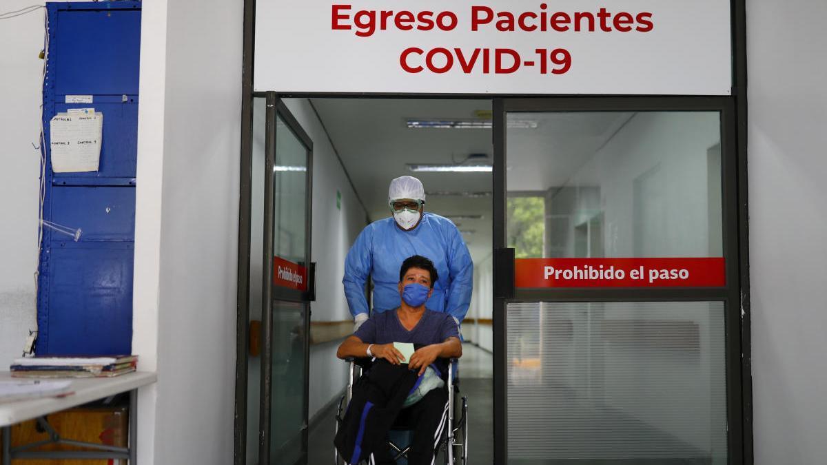 Un paciente de COVID en Ciudad Juárez (México)