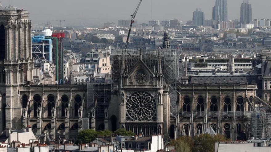 Estado en el que ha quedado Notre Dame