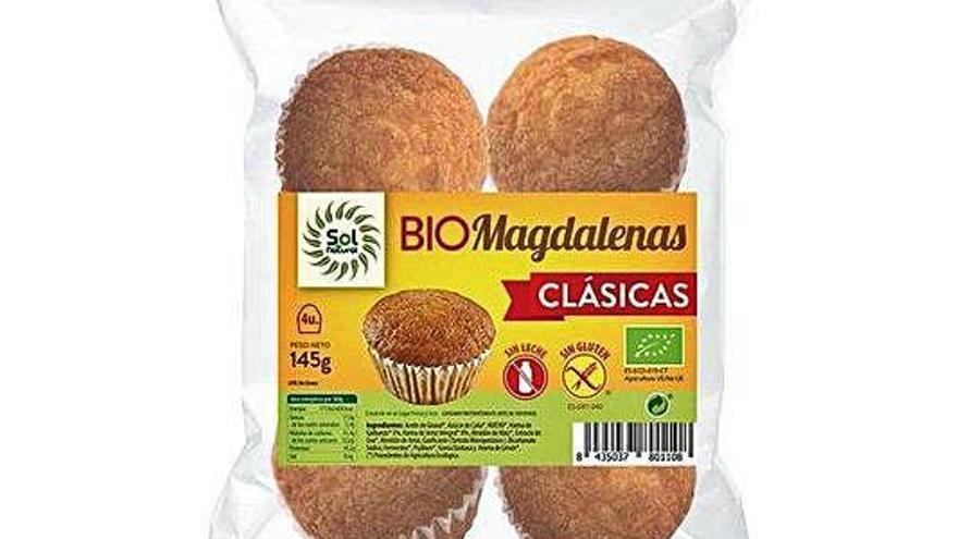 Retiran 20 bolsas de magdalenas 'sin gluten' que sí lo contenían