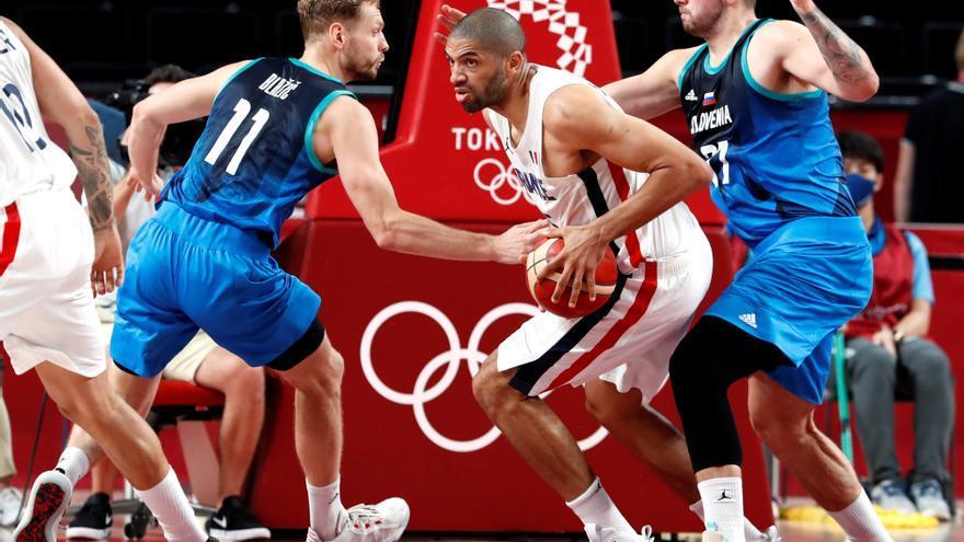 Francia logra frenar a Doncic y será el rival de EEUU en la final de baloncesto