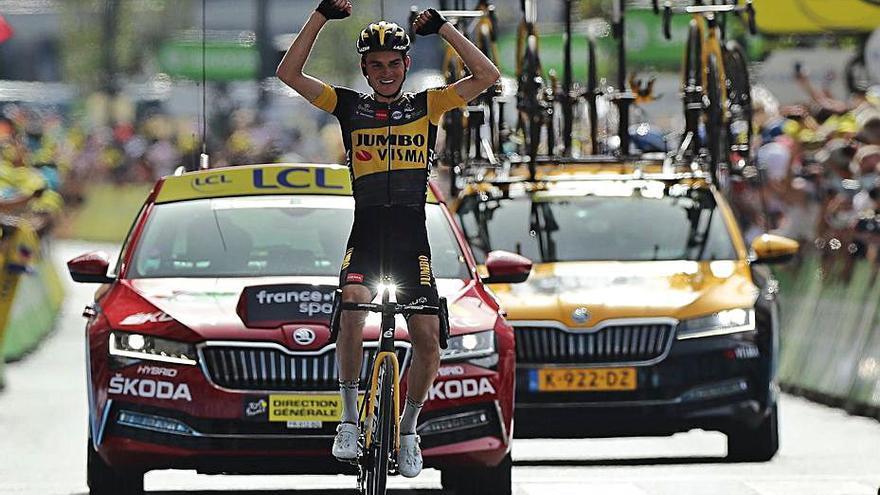 Kuss guanya als Pirineus, on Urán recupera la segona posició de la general del Tour