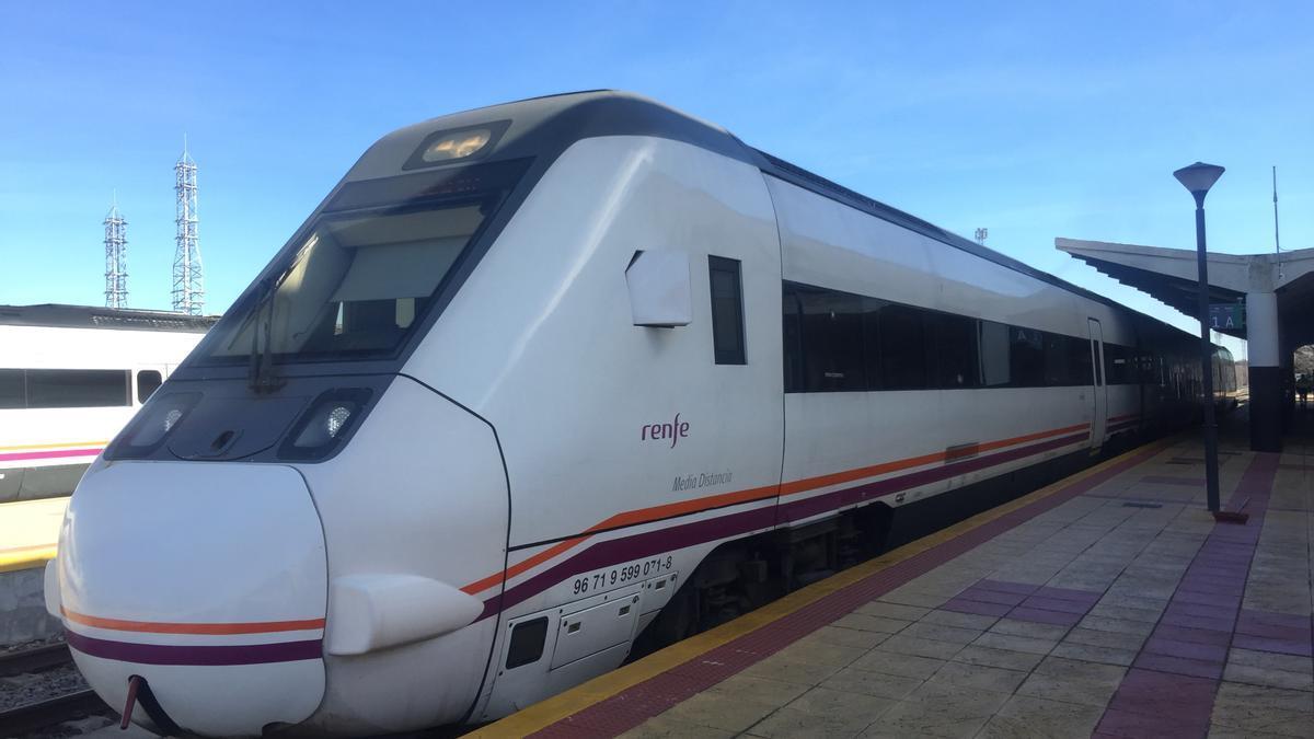 Un tren en Mérida