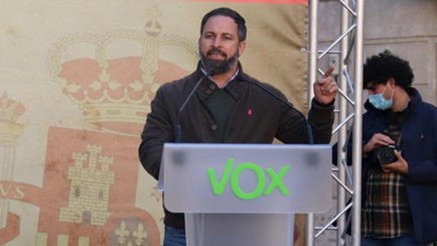 Vox presenta al·legacions al Suprem en contra de l'indult als presos