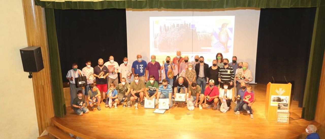 Imagen de grupo de los ganadores del tradicional concurso de Reclam de Boca, que suma 27 ediciones, en l'Alcora.