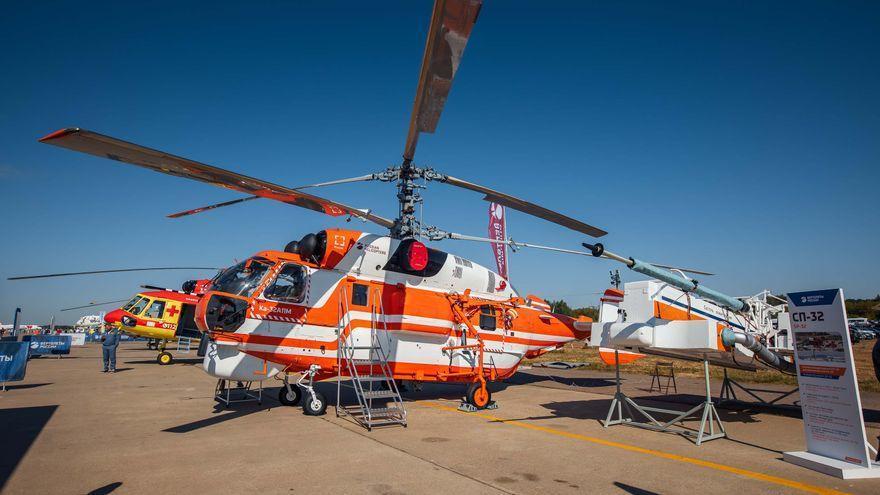Fallecen al menos 8 personas al desplomarse un helicóptero en Rusia