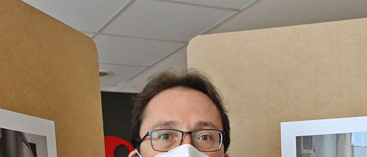 Arturo Molla Baza en el Hospital del Vinalopó de Elche.  |