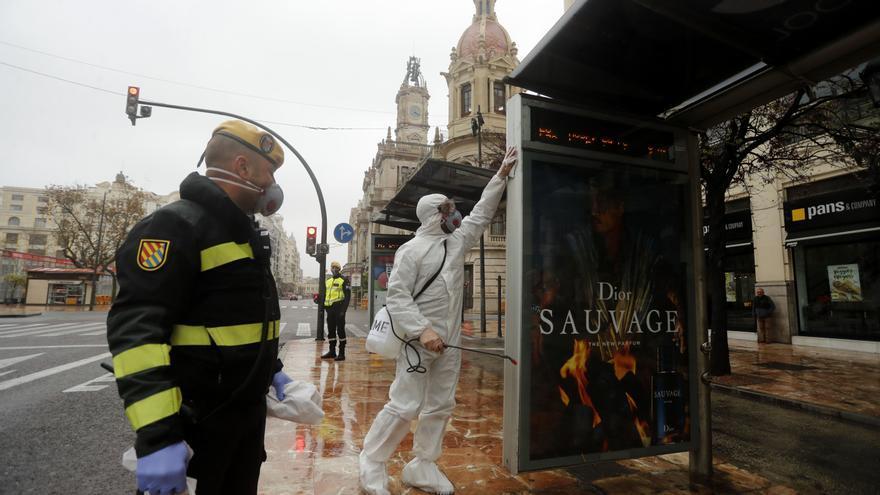 Pandemia, año 1: así vivió València el inicio del confinamiento domiciliario por el coronavirus
