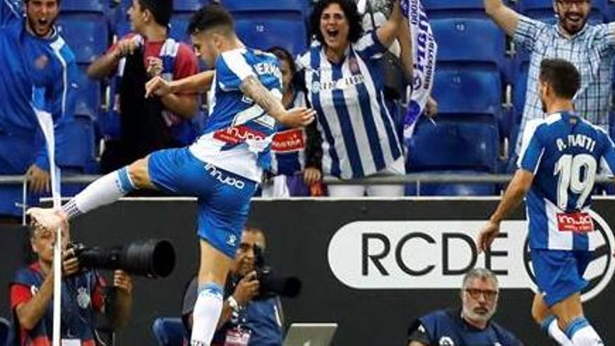 El Espanyol suma su tercera victoria casera ante el Eibar