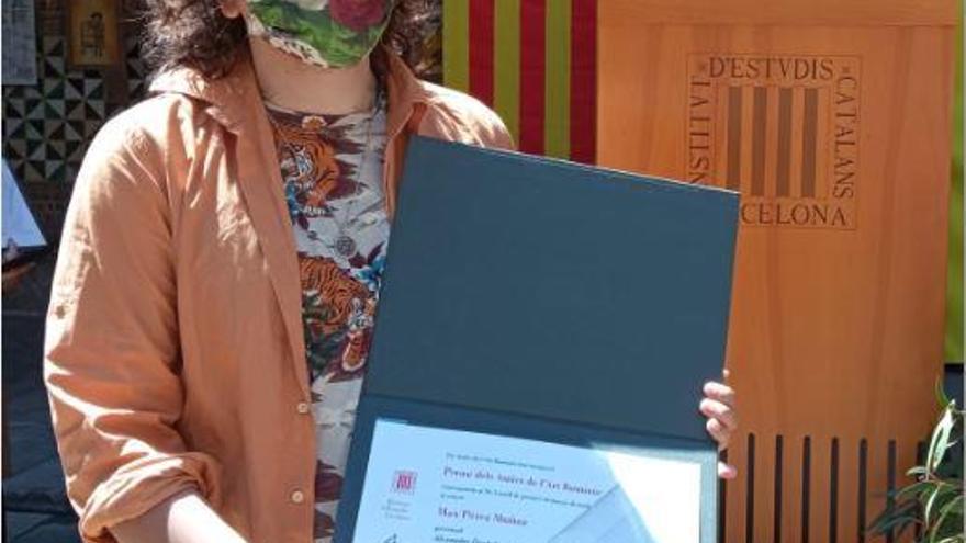 Max Pérez obté un premi dels Amics de l'Art Romànic per un estudi sobre Deulofeu