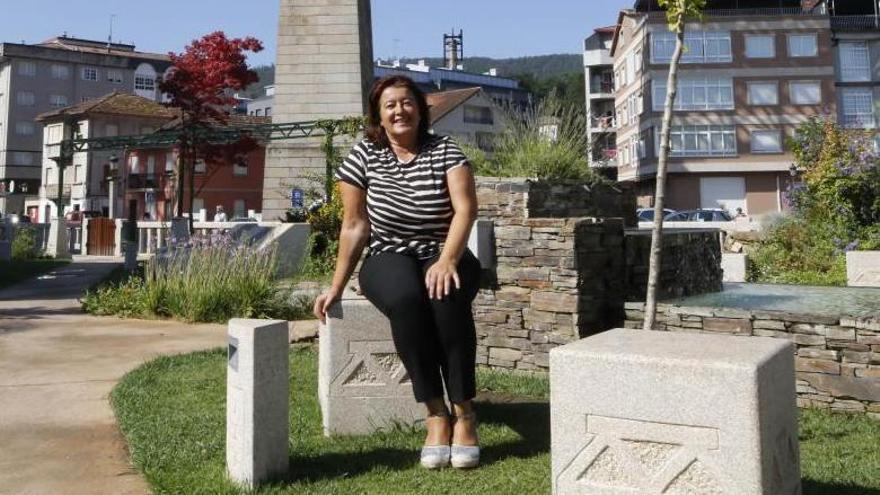 La portavoz del PP de Redondela, María del Carmen Amoedo. / Alba Villar