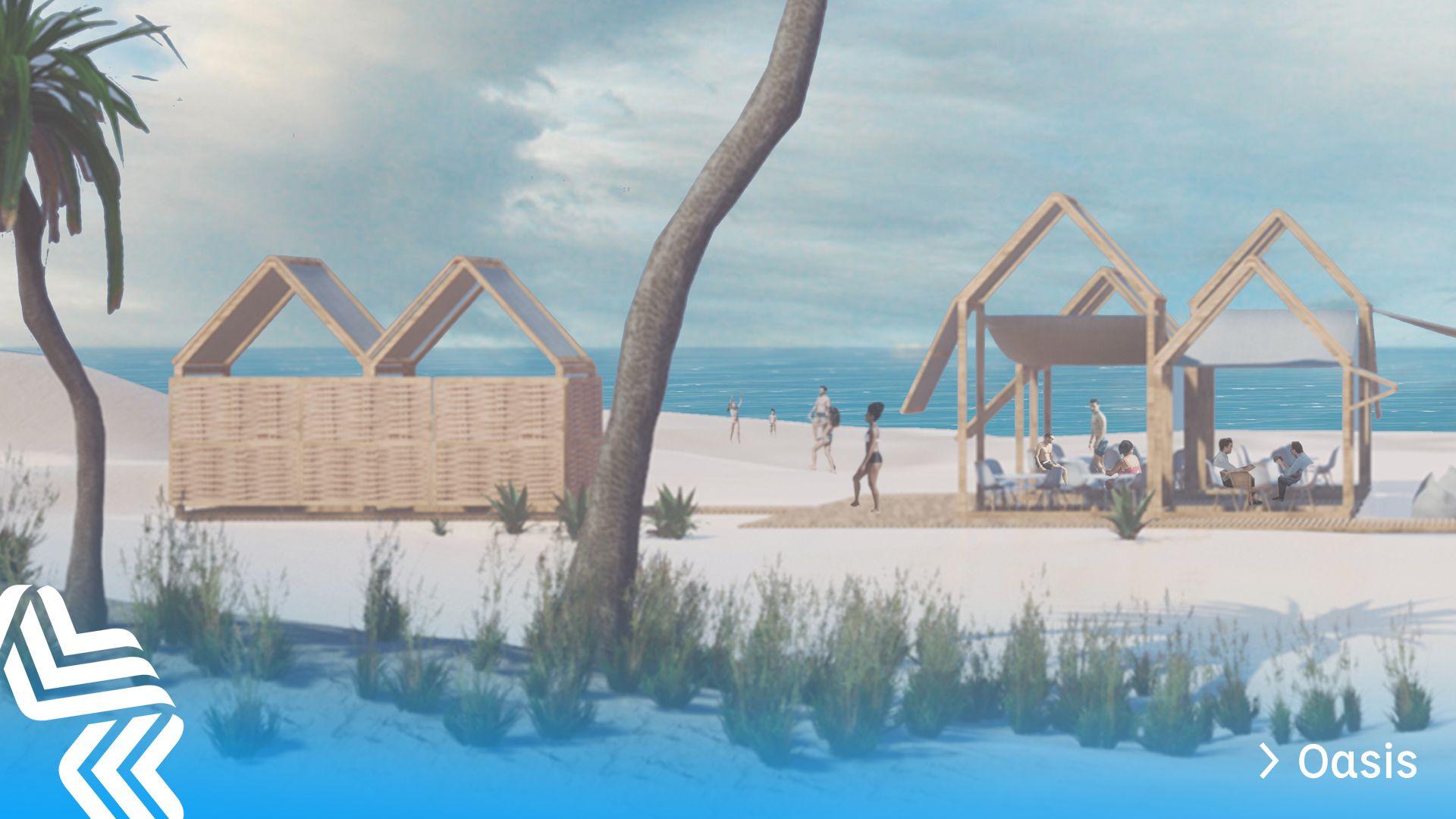 Las 29 propuestas de chiringuitos sostenibles de Gandia