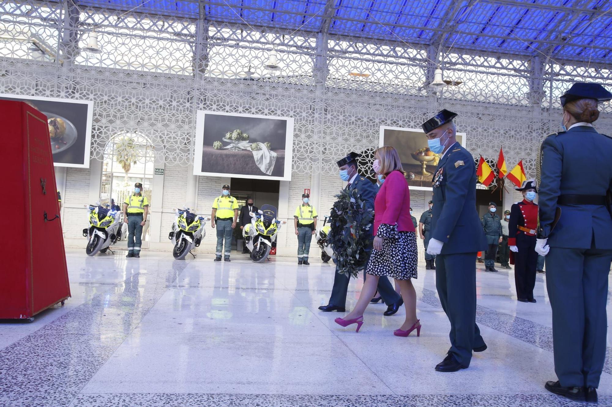 Alicante rinde homenaje a la patrona de la Guardia Civil