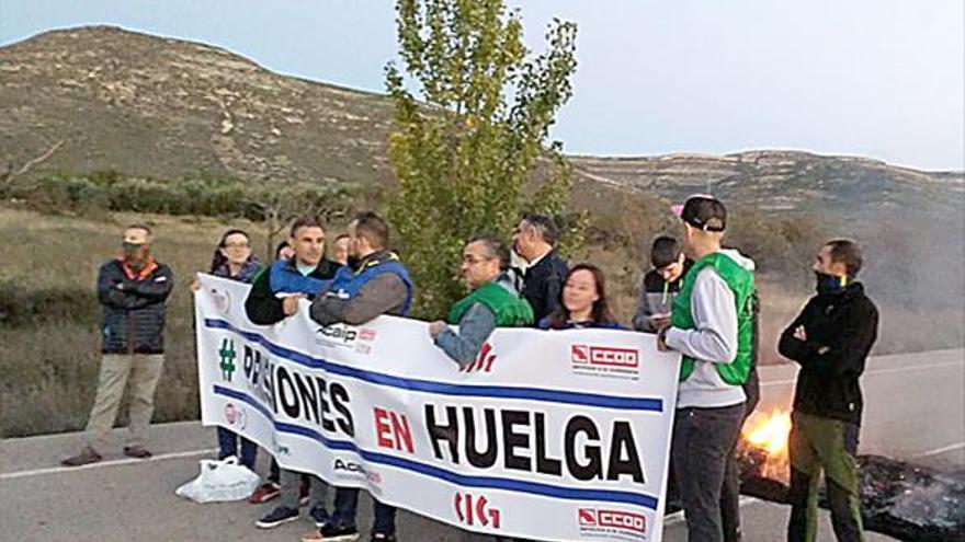 Más de 700 funcionarios siguen la huelga de prisiones en Castellón