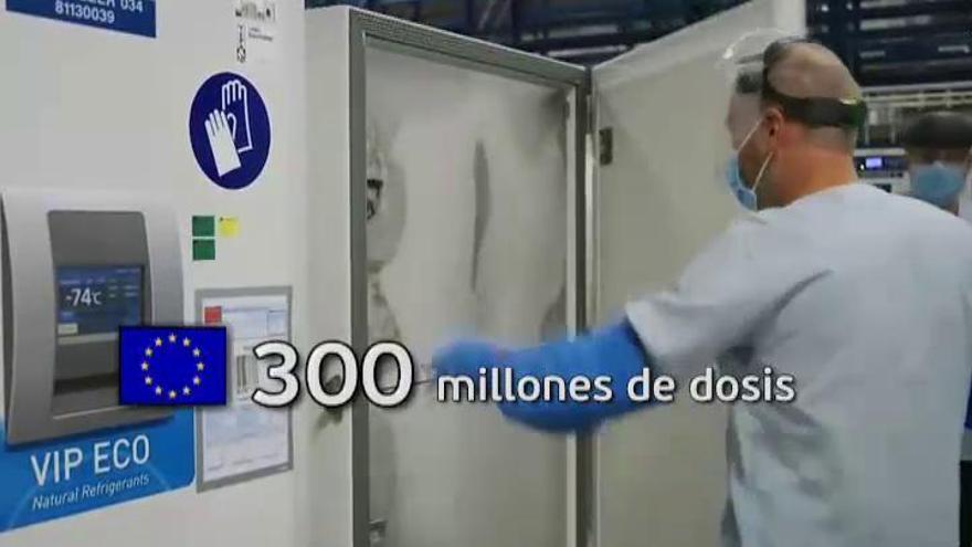 Bruselas da luz verde al contrato de la vacuna de Pfizer