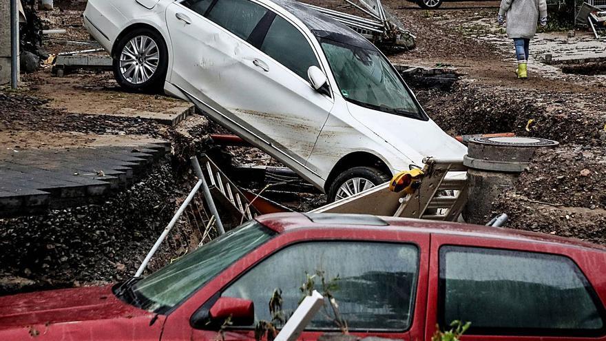 Les inundacions a Alemanya  deixen com a mínim 103 morts