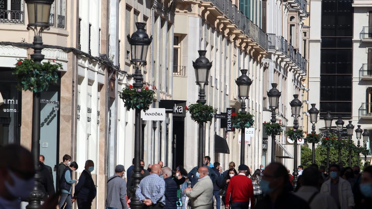 La actividad no esencial intenta recuperar la normalidad en Málaga